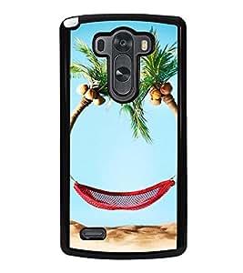 Beach Holidays 2D Hard Polycarbonate Designer Back Case Cover for LG G3 :: LG G3 Dual LTE :: LG G3 D855 D850 D851 D852