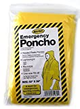 Adult-Size-Emergency-Poncho-MAYDAY-INDUSTRY-PACK-OF-4-Pieces-Rain-Rainwear-Camping-Hiking-Sports-Bug-out-bag-Disaster-Survival-safety-PPE-NEW