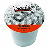 Brooklyn Beans Colombian Coffee, Single-cup coffee for Keurig K-Cup Brewers, 40-count