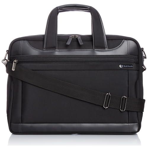 [ワールドトラベラー] World Traveler ワールドトラベラー ライリー ビジネスバッグ 43482 01 (ブラック)
