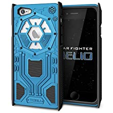 buy Iphone 6S Case, Toru [Star Fighter Helio] Iphone 6/6S Case For Men [Wing Shield Drop Protection][Heavy Duty][Shockproof] Rugged Armor Case For Both Iphone 6 And Iphone 6S - Blue