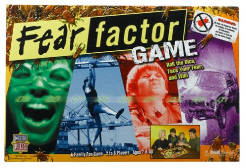 Buy Master Pieces Fear Factor Family Game