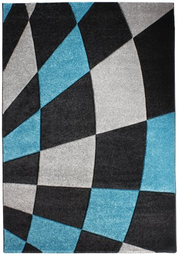 """Rug - Woven """"Brand Luxor Living"""" Black """"5 Sizes Availlable"""" 2Ft0""""X3Ft7"""""""