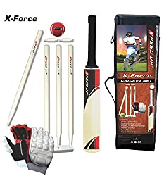 Speed Up X-Force Size 6 Combo Cricket Kit (Multicolor)