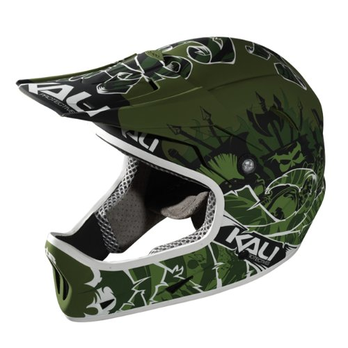 Buy Low Price Kali Protectives Avatar Full-Face FR/DH MTB Helmet XL Oslo Green (B008YLITLO)