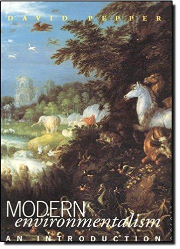 Modern Environmentalism: An Introduction