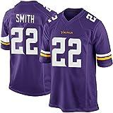 Mens Minnesota Vikings Harrison Smith #22 Purple Game Jersey