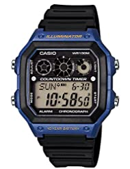Casio Youth Digital Grey Dial Men's Watch - AE-1300WH-2AVDF (D107)