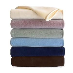 Martex vellux blanket ivory queen for Vellux blanket