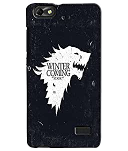 EU4IA GAMES OF THRONES MATTE FINISH 3D MATTE FINISH Back Cover Case For Huawe...