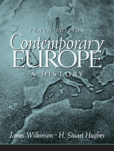 Contemporary Europe: A History- (Value Pack w/MySearchLab) (10th Edition)