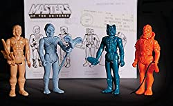SDCC 2015 Masters of the Universe Stage 01 Prototype Action Figure 4 Pack
