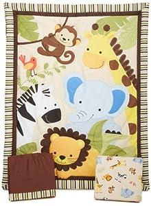Lambs Ivy Bedtime Originals Jungle Buddies Bedding Set Pack Of 3 Piece