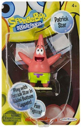 Buy Low Price Jakks Pacific Patrick Star 3.75″ Posable Mini-Figure: SpongeBob Squarepants Series (B004YL8BUM)