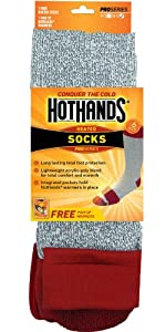 HotHands Heated Socks (Size:  9- 11)