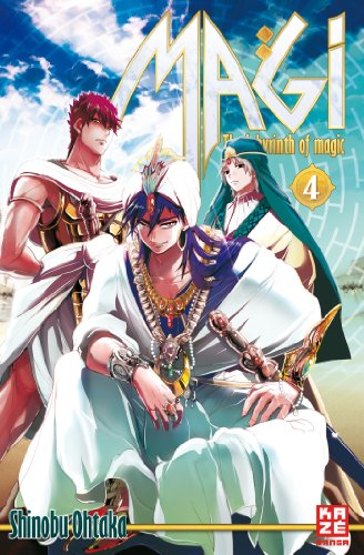 Magi - The Labyrinth of Magic, Band 4