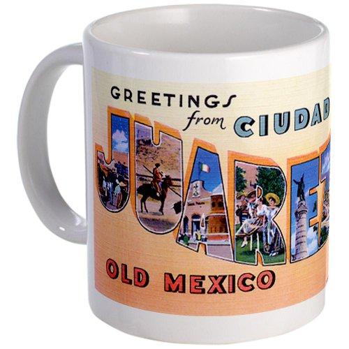 Cafepress Vintage Juarez Mexico Mug - Standard
