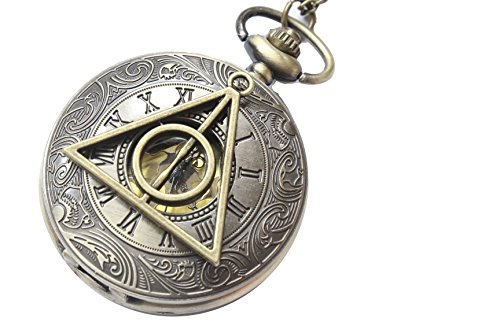 Deathly-Hallows-the-Harry-Potter-Pocket-Watch-Necklace-Jewelry-Pendant-Mens-Gift-Steampunk-Style