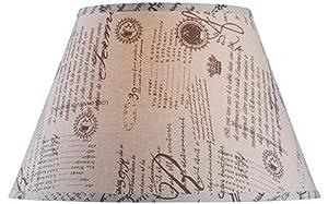 Amazon Com Empire Lamp Shade 18 Quot Linen French Script