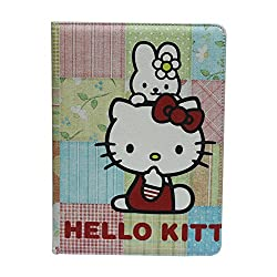 Hello Kitty Flip Leather Case Cover For Ipad Air /Ipad 5