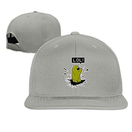 KTKY Rock Punk Cool Alien Hip-hop Baseball Hat Ash