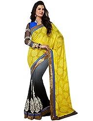 CSE Bazaar Women Indian Saree Beautiful Fancy Ethnic Cultural Party Wear Sari - B00SO6QWNQ