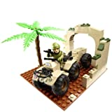 H.M. Armed Forces: Character Building Army Quad Bike SetToys Games