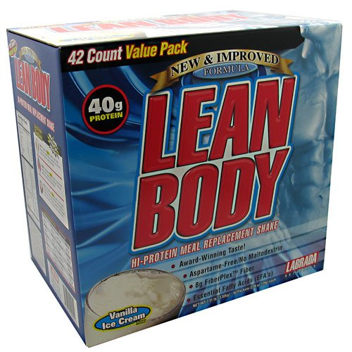 Labrada Nutrition - New Lean Body Vanilla 42 Pack, 42 Powder
