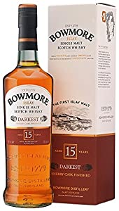 Bowmore Darkest 15 Year Old 70cl