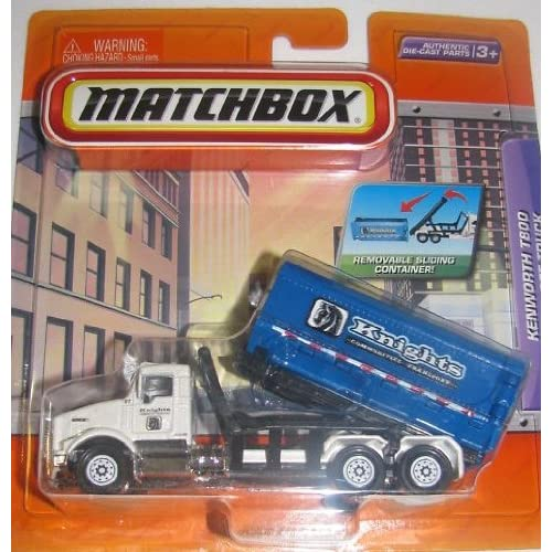 Matchbox Real Working Parts Kenworth T800 Roll Off Truck