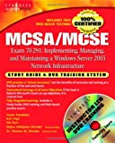 img - for MCSA/MCSE Exam 70-291 Study Guide and Training System: Implementing, Managing, and Maintaining a Windows Server 2003 Network Infrastructure book / textbook / text book