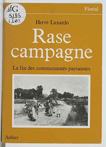 rase-campagne-la-fin-des-communautes-villageoises-floreal-french-edition