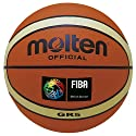 Molten Trainingsbasketball im neuen Design, creme/orange