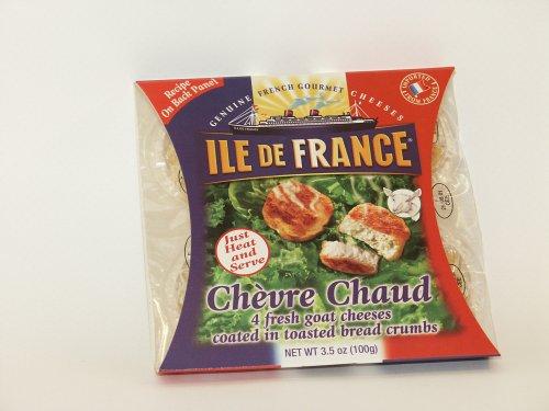 Ile De France Chevre Chaud. 4 Pack