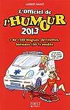 L'Officiel de l'humour 2013