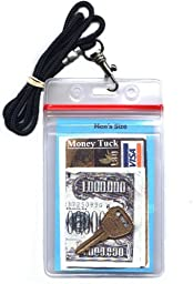 Money & ID Holder (Water resistant) - Men's 34 Inch Lanyard