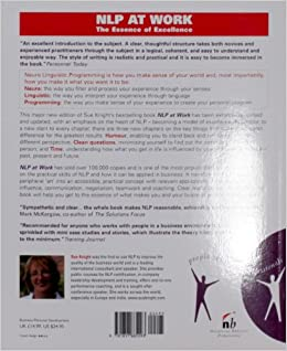 nlp at work the essence of excellence-3rd edition pdf