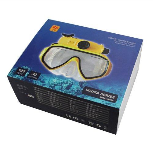 2013新入荷 HD高画質720P 潜水用品 カメラ型ビデオカメラ 30M防水 動体検知機能 夜間撮影可 最大32GB対応