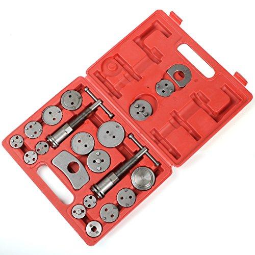 TRIXES 21 Piece Brake Caliper Rewind Tool Kit Car Vehicle