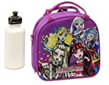 Monster High Insulated Lunch Bag & Water Bottle w/ Strap