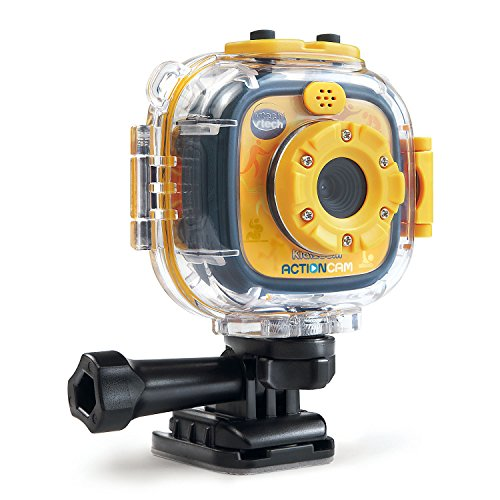 VTech Kidizoom Action Cam, Yellow/Black (Kids Cameras Digital compare prices)