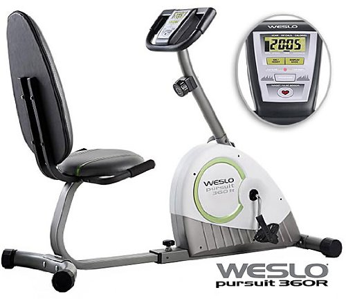 Weslo Pursuit 360 R Recumbent Bike Model WLEX1476