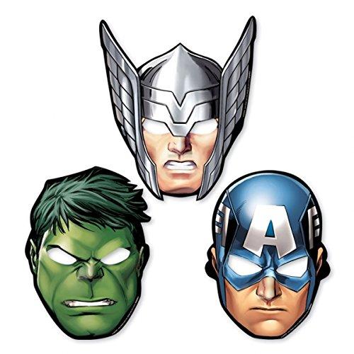 The Avengers Paper Mask [Contains 3 Manufacturer Retail Unit(s) Per Amazon Combined Package Sales Unit] - SKU# 360084