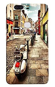 Omnam Streets Of Italy Printed Designer Back Cover Case For Huawei Honor V8