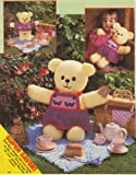 Birthday Bear and Clothes by Jean Greenhowe Toy Knitting Pattern: Sweater & Pinafore, Jacket & Trousers, Football Scarf & Cap, Plain Skirt, Plain Sweater: Teddy measures 39cm (Woman's Weekly Magazine Pull Out Pattern) Jean Greenhowe