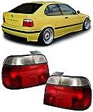 BMW E36 Compact R�CKLEUCHTEN ROT WEISS