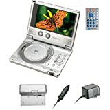 Audiovox D1710 7-Inch Slim Line Portable DVD Player