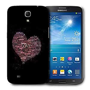 Snoogg Love Of Heart Designer Protective Back Case Cover For Samsung Galaxy Mega 6.3