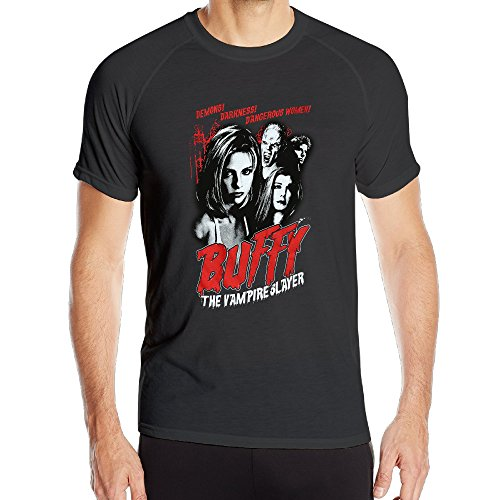 Men's PopuLar Series Buffy The Vampire Slayer Cult Poster Athletic Sports Shirts Cool (H2o Just Add Water Poster compare prices)