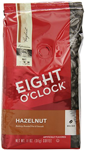 eight-oclock-whole-bean-coffee-hazelnut-11-ounce-pack-of-6